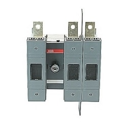 3 pole, 100 amps rated at 600 V AC, UL 98, open fusible disconnect switch for use with J fuse type