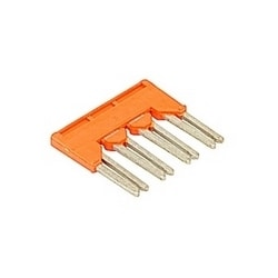 4 pole, type BJDL6.4, 32 Amp jumper bar with IP20 protection