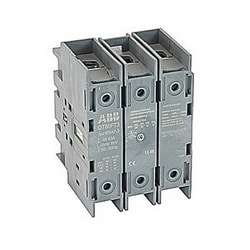 3 pole, 60 amps rated at 600 V AC, UL 98, door mounted open non-fusible disconnect switch