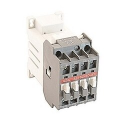 3 pole, 30 amp, non-reversing across the line contactor with 1 NC auxiliary contact