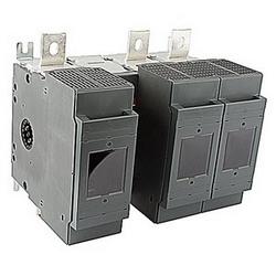 pôle 3, 600 ampères, évalués à 600 V AC, UL 98, ouvrir le sectionneur fusible pour utilisation avec type de fusible J