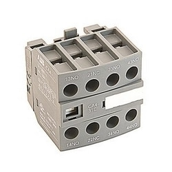 Front mounted instantaneous auxiliary contact block with 3 NO and 1 NC contacts