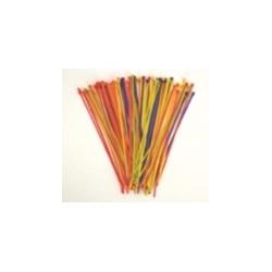 "Cable Tie 18lb 4"" Fluorscent Pink All-Nylon 100 Per Bag"