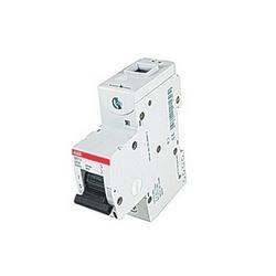 pôle 1, 20 a évalué à 240 V courant alternatif, série disjoncteur miniature avec dispositif de voyage magnéto-thermique, courbe de déclenchement Z et courant nominal de l'interruption 50kA