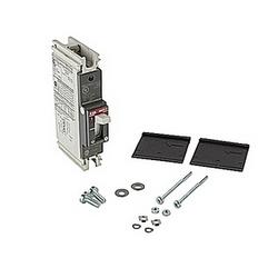 pôle 1, 100 a évalué à 240V AC et DC 125V, voyage point fixé moulé disjoncteur boîtier, avec un dispositif de déclenchement magnétique thermique et 10kA à 240V AC et 5kA au courant nominal de 125V DC interruption