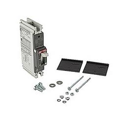 pôle 1, 20 a évalué à 240V AC et DC 125V, voyage point fixé moulé disjoncteur boîtier, avec un dispositif de déclenchement magnétique thermique et 10kA à 240V AC et 5kA au courant nominal de 125V DC interruption