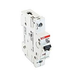 pôle 1, 6 ampères puissance nominale V AC, UL 1077 série disjoncteur miniature avec dispositif de voyage magnéto-thermique, courbe de déclenchement Z et courant nominal de l'interruption 10kA