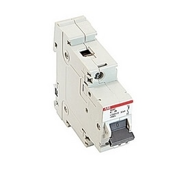 1 pole, 26 amps rated at 600Y/277 V AC, UL 1077 series miniature circuit breaker with adjustable trip device, K trip curve, and 30kA interrupt current rating