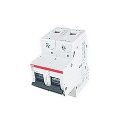 2 pole, 80 amps rated at 690 V AC, IEC series high performance circuit breaker with thermal-magnetic trip device, K trip curve, and 50kA interrupt current rating