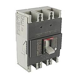 pôle 3, 200 ampères, évalués à 240V AC et DC 250V, voyage point fixé moulé disjoncteur boîtier, avec un dispositif de déclenchement magnétique thermique et 25kA au courant nominal d'AC/DC interruption 240V