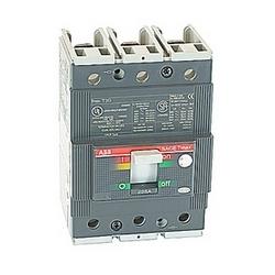 pôle 3, 225 ampères nominale de 480V AC et DC 500V, Tmax moulé boîtier disjoncteur avec un dispositif de déclenchement magnétique thermique et 35kA au courant nominal de 480V AC interruption
