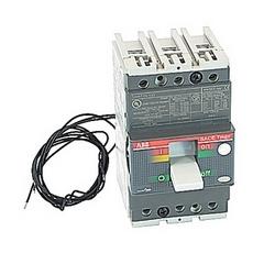 pôle 3, 80 ampères nominale de 480V AC et DC 500V, Tmax moulé boîtier disjoncteur avec un dispositif de déclenchement magnétique thermique et 22kA au courant nominal de 480V AC interruption