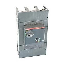 pôle 3, 600 ampères puissance nominale 600V AC/DC, Tmax moulé boîtier disjoncteur, utilisation du déclencheur shunt avec un dispositif de déclenchement magnétique thermique et 65kA au courant nominal de 480V AC interruption