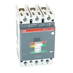 pôle 3, 50 ampères nominale de 600V AC, Tmax moulé boîtier disjoncteur magnétique seul appareil de voyage (MCP) et 85kA au courant nominal de 480V AC interruption