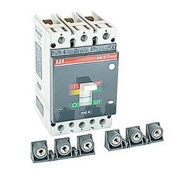 pôle 3, 200 ampères nominale 600V AC/DC, Tmax moulé boîtier disjoncteur avec un dispositif de déclenchement magnétique thermique et 50kA au courant nominal de 480V AC interruption