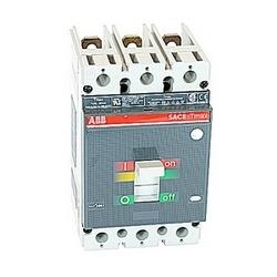 pôle 3, 200 ampères nominale de 600V AC, Tmax moulé boîtier disjoncteur magnétique seul appareil de voyage (MCP) et 85kA au courant nominal de 480V AC interruption