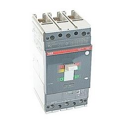 pôle 3, 250 a évalué à 600V AC, disjoncteur boîtier moulé de Tmax avec un dispositif de déclenchement électronique avec un appareil de voyage magnétique interruption MCP et 25kA au courant nominal de 480V AC interruption