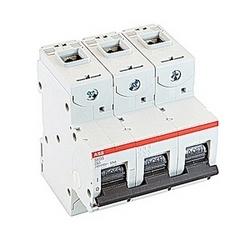 pôle 3, 63 a évalué à 690 V AC, IEC série haute performance disjoncteur avec dispositif de voyage magnéto-thermique, courbe de déclenchement de C et 50kA interruption courant nominal
