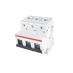 3 pole, 16 amps rated at 690 V AC, IEC series high performance circuit breaker with thermal-magnetic trip device, K trip curve, and 50kA interrupt current rating