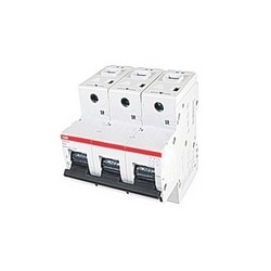 3 pole, 20 amps rated at 690 V AC, IEC series high performance circuit breaker with thermal-magnetic trip device, K trip curve, and 50kA interrupt current rating