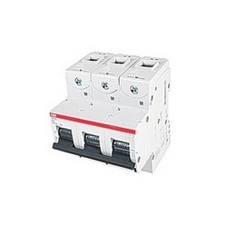 3 pole, 63 amps rated at 690 V AC, IEC series high performance circuit breaker with thermal-magnetic trip device, K trip curve, and 50kA interrupt current rating