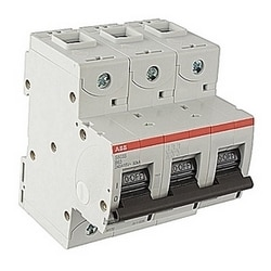 vis amp 3 800 pole, S63, résilié disjoncteur miniature avec un B caractéristique de déclenchement