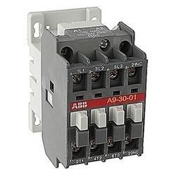 pôle 3, 21 amp, irréversible sur le contacteur de ligne avec bobine AC 110-120V et 1 contact auxiliaire NF