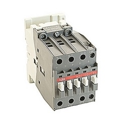 3 pole, 55 amp, non-reversing across the line contactor with 24V AC coil and 1 NC auxiliary contact