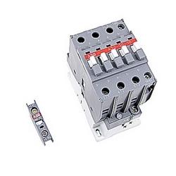 pôle 3, 55 amp, irréversible sur le contacteur de ligne avec bobine AC 110-120V et 1 n'et 1 contacts auxiliaires NC