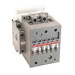pôle 3, 55 amp, irréversible sur le contacteur de ligne avec bobine AC 400-415V et 1 n'et 1 contacts auxiliaires NC
