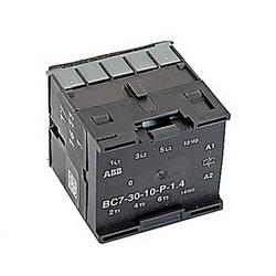 3 pole, plus 1 aucun contact auxiliaire, amp 16, contacteur miniature avec bobine DC 24V et souder broches résiliation