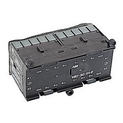 pôle 3, plus 2 contacts auxiliaires NC, amp 16, miniature mécaniquement interverrouillés contacteur, bobine AC 110-127V et pinted platine montage et terminaux