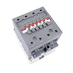 pôle 4, 70 amp, à travers le contacteur de ligne bloc avec bobine AC 110-120V et sans contacts auxiliaires