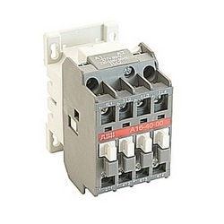 4 pole, 30 amp, across the line block contactor with 277V AC coil and no auxiliary contacts