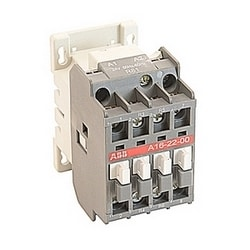 4 pole, 30 amp, across the line block contactor with 24V AC coil and no auxiliary contacts