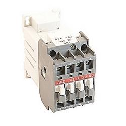 pôle 4, 30 amp, à travers le contacteur de ligne bloc avec bobine DC 24V et sans contacts auxiliaires