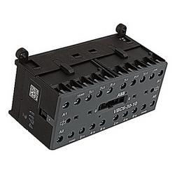 amp 12, 3 pole verrouillés mécaniquement et vis ne résilié contacteur miniature avec bobine DC 24V et 2 aucun contacts auxiliaires
