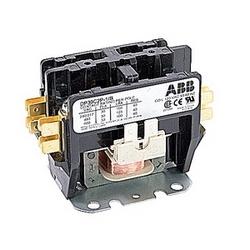 pôle 2 amp 30, contacteur de fin définitive, irréversible, bobine AC 120V, plaque de montage standard de l'industrie, en vrac