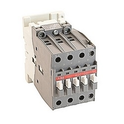 3 pole, 55 amp, non-reversing across the line contactor with 110-120V AC coil and 1 NC auxiliary contact