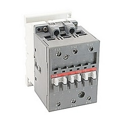 3 pole, 55 amp, non-reversing across the line contactor with 208V AC coil and no auxiliary contacts