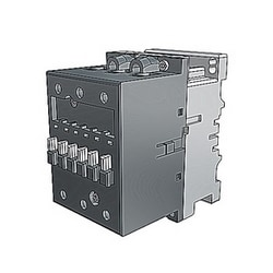 3 pole, 125 amp, non-reversing across the line contactor with 230-240V AC coil and no auxiliary contacts