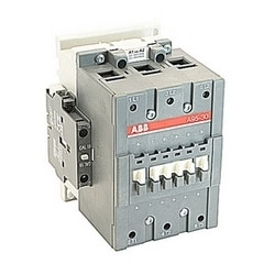 3 pole, 145 amp, non-reversing across the line contactor with 230-240V AC coil and 1 NO and 1 NC auxiliary contacts