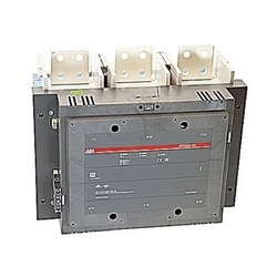 3 pole, 1900 amp, non-reversing across the line contactor with 100-250V AC/DC coil with 1 NO and 1 NC auxiliary contacts