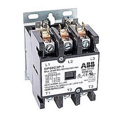 pôle 3 amp 50, contacteur de fin définitive, irréversible, bobine AC 120V, plaque de montage standard de l'industrie