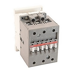 3 pole, 80 amp, non-reversing across the line contactor with 20-60V DC coil and no auxiliary contacts
