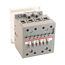 4 pole, 100 amp, across the line block contactor with 110-120V AC coil and no auxiliary contacts