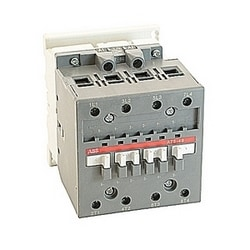 4 pole, 125 amp, across the line block contactor with 110-120V AC coil and no auxiliary contacts