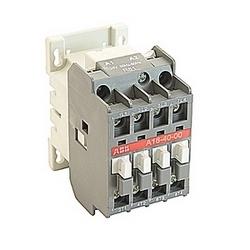 pôle 4, 30 amp, à travers le contacteur de ligne bloc avec bobine AC 24V et sans contacts auxiliaires