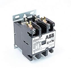 pôle 2 amp 60, contacteur de fin définitive, irréversible, bobine AC 24V, plaque de montage standard de l'industrie