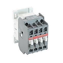 pôle 4, 25 amp, à travers le contacteur de ligne bloc avec bobine AC 24V et sans contacts auxiliaires